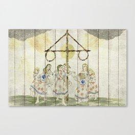 Maypole Canvas Print