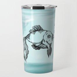 Jar Fish Travel Mug