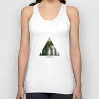 religious Tank Tops featuring Thank god, I'm not religious. by Kilian Guenthner