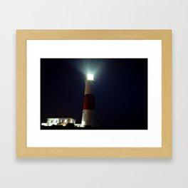Light on the Coast Framed Art Print