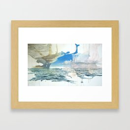 Days on the Pacific Framed Art Print