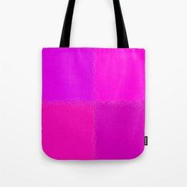 QUARTERS #1 (Purples, Magentas & Fuchsias) Tote Bag