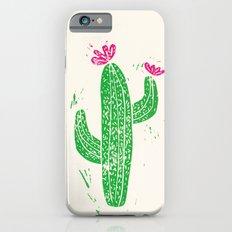 Linocut Cacti #2 Slim Case iPhone 6s