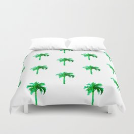 Palm Tree Pattern Duvet Cover