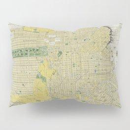 Vintage Map of San Francisco CA (1898) Pillow Sham