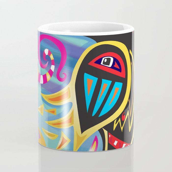 Decorative raven Coffee Mug