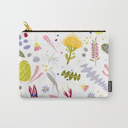 Australian Botanical Carry-All Pouch