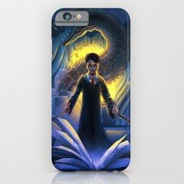 Harry el mago iPhone Case