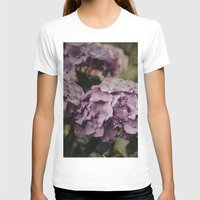 hydrangea T-shirts featuring Purple Hydrangea by Pure Nature Photos