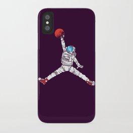 space dunk (purple ver.) iPhone Case
