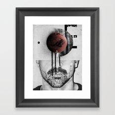 Occupy Your Mind Framed Art Print