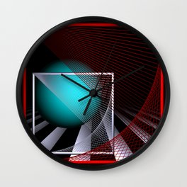 experiments on geometry -9- Wall Clock