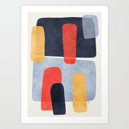 Parallax Art Print