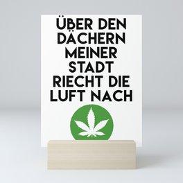 PALMEN AUS PLASTIK - Marihuana 187 Lyrics Mini Art Print