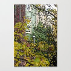 Come to my Window Canvas Print