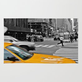 NYC Yellow Cabs Sex and the City - USA Rug