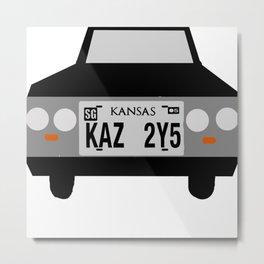 KAZ 2Y5 Metal Print