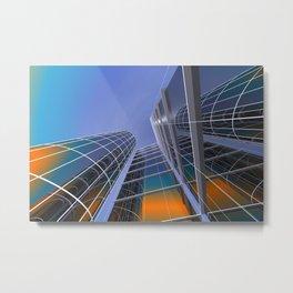 look into the sky -5- Metal Print