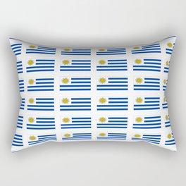 flag of Uruguay 2 -Uruguyan,montevideo,spanish,america,latine,Salto,south america,paysandu,costa,sun Rectangular Pillow