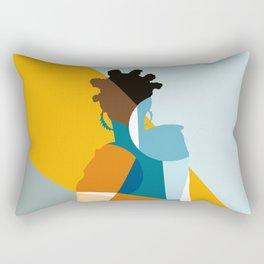 Bantu Woman Rectangular Pillow