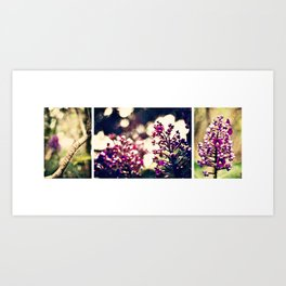 In the Garden together Art Print