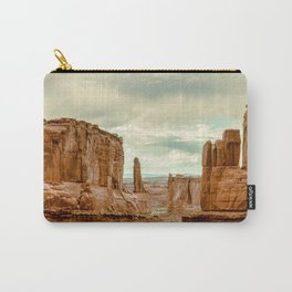 Utah - Red Sandstone Spires Carry-All Pouch