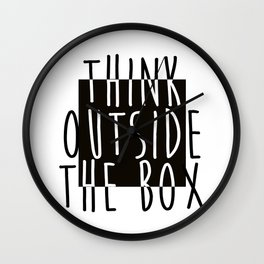 Quote Wall Clock