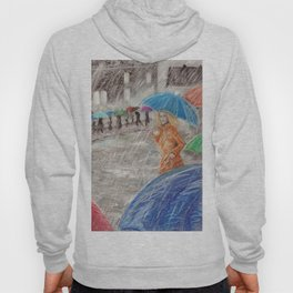 Rainy Days in Normandy Hoody