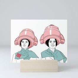 Hair odyssey #girls #hair #beauty Mini Art Print