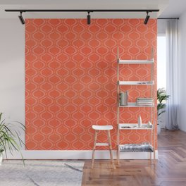 Exotic Energy in Red Wall Mural