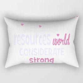 On My Honor Rectangular Pillow