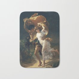 The Storm by Pierre-Auguste Cot 1880, French Bath Mat