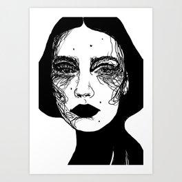 Cécilia Art Print