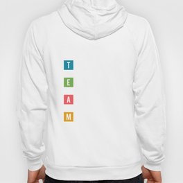 Lab No.4 -Together Everyone Achieves More Inspirational Quotes poster Hoody