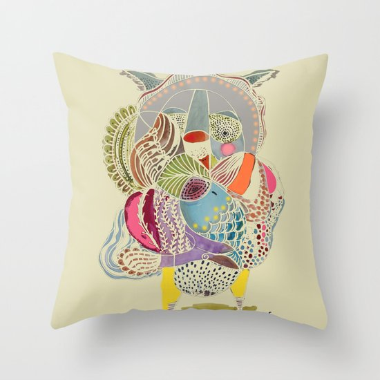 Gustave Throw Pillow