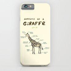 Anatomy of a Giraffe iPhone 6 Slim Case