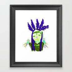 aHHHHHH #1 Framed Art Print