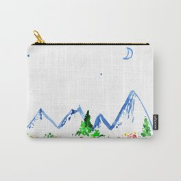 Mountains    watercolor Carry-All Pouch