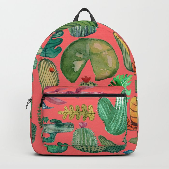 Summer Nature in Pink Backpack