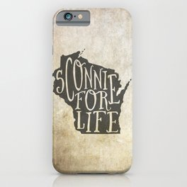 Sconnie for Life iPhone Case