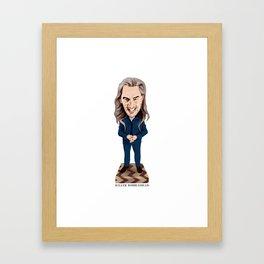 Killer Bobblehead Framed Art Print