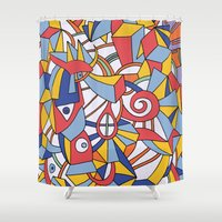 the last airbender Shower Curtains featuring - last - by Magdalla Del Fresto