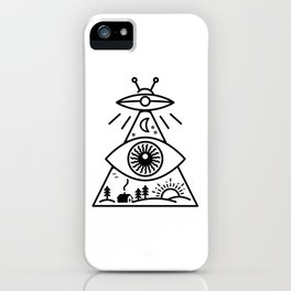 They Watch Us iPhone Case