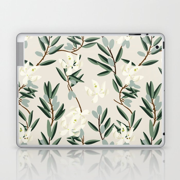 OLIVE BLOOM Laptop & iPad Skin
