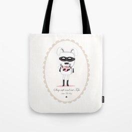 Super Tofu Boy Tote Bag