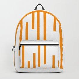 Minimalist Lines – Orange Backpack