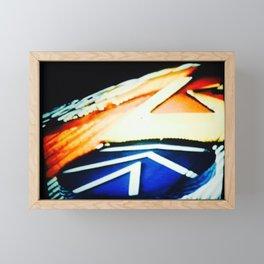 Neon Lights 1987 Framed Mini Art Print
