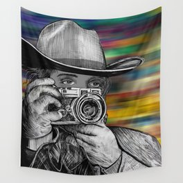 Western Rangefinder Wall Tapestry
