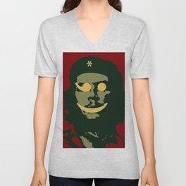 Che Emoticomunist Emoji Pop Art Protest Unisex V-Neck