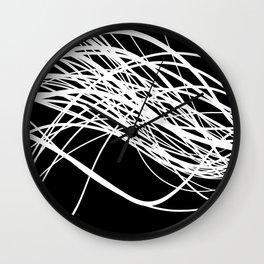 Linear Flow Wall Clock